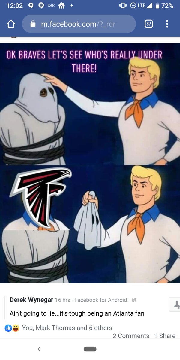 @AtlantaFalcons, @Braves: I can't quit you... #AtlantaSports #TheCurseIsReal  #AtlantaSportsCurse  NOT #RELENTLESS #ChopOn #RiseUp #atlantabraves #AtlantaFalcons #STLvsATL #chopped #BravesCountry