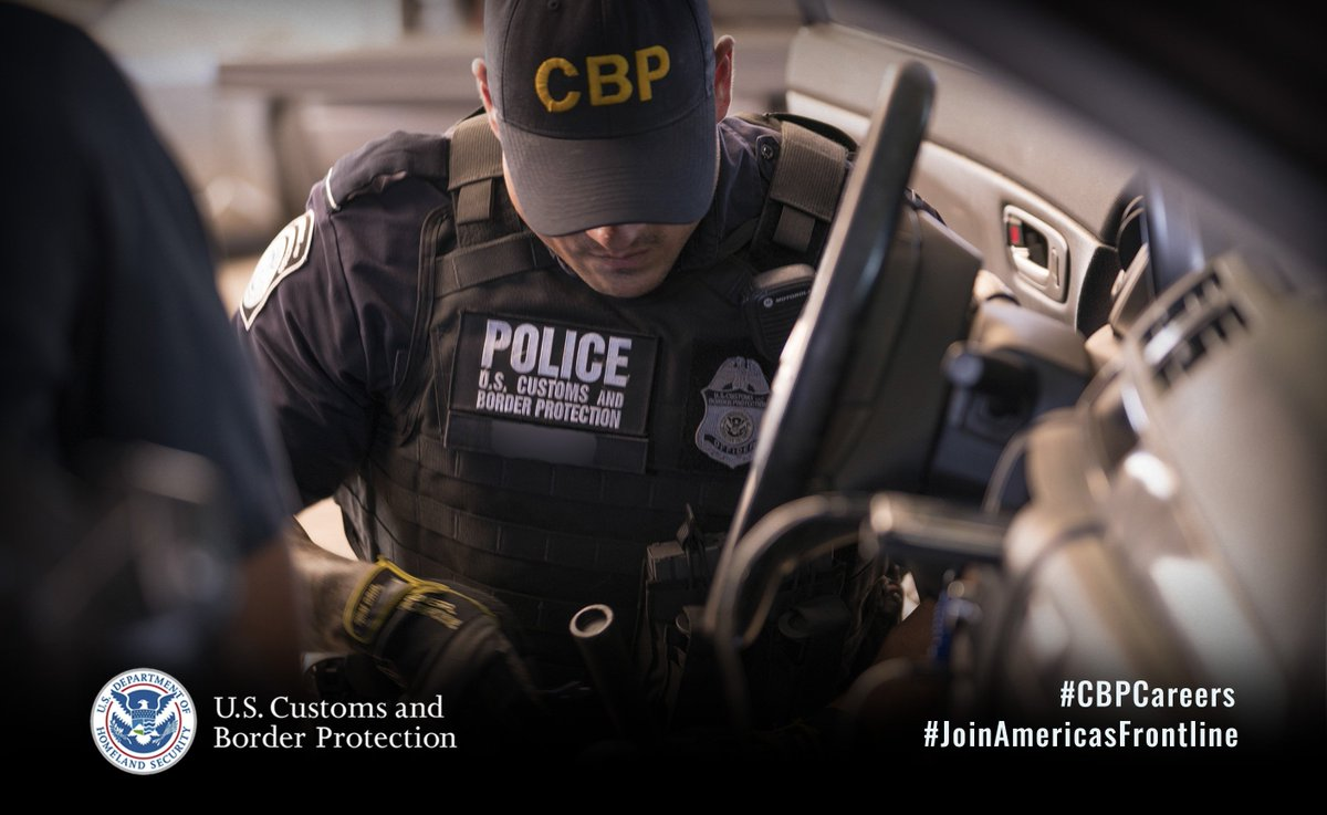 TOMORROW! Visit @CBP recruiters at the Congressman @BennieGThompson College & Career Fair in Greenville, MS, from 9AM–4PM to learn more about rewarding careers fostering our nation's economic security. For more info: bit.ly/2npdFGC #JoinAmericasFrontline #CBPCareers