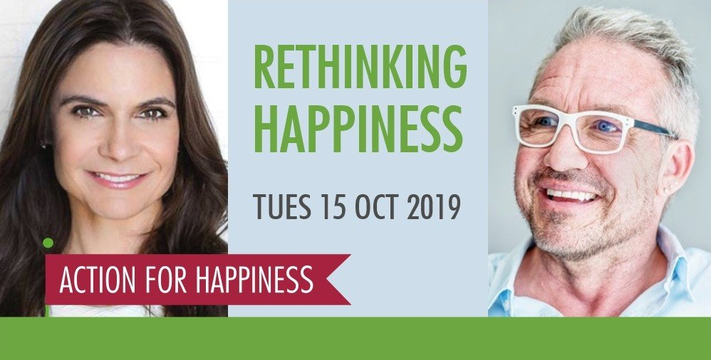 Excited to be speaking alongside @profpauldolan on rethinking the prevailing view of #happiness at this @actionhappiness event on Oct. 15th. Stop by if in London next week! bit.ly/2M4fL8v