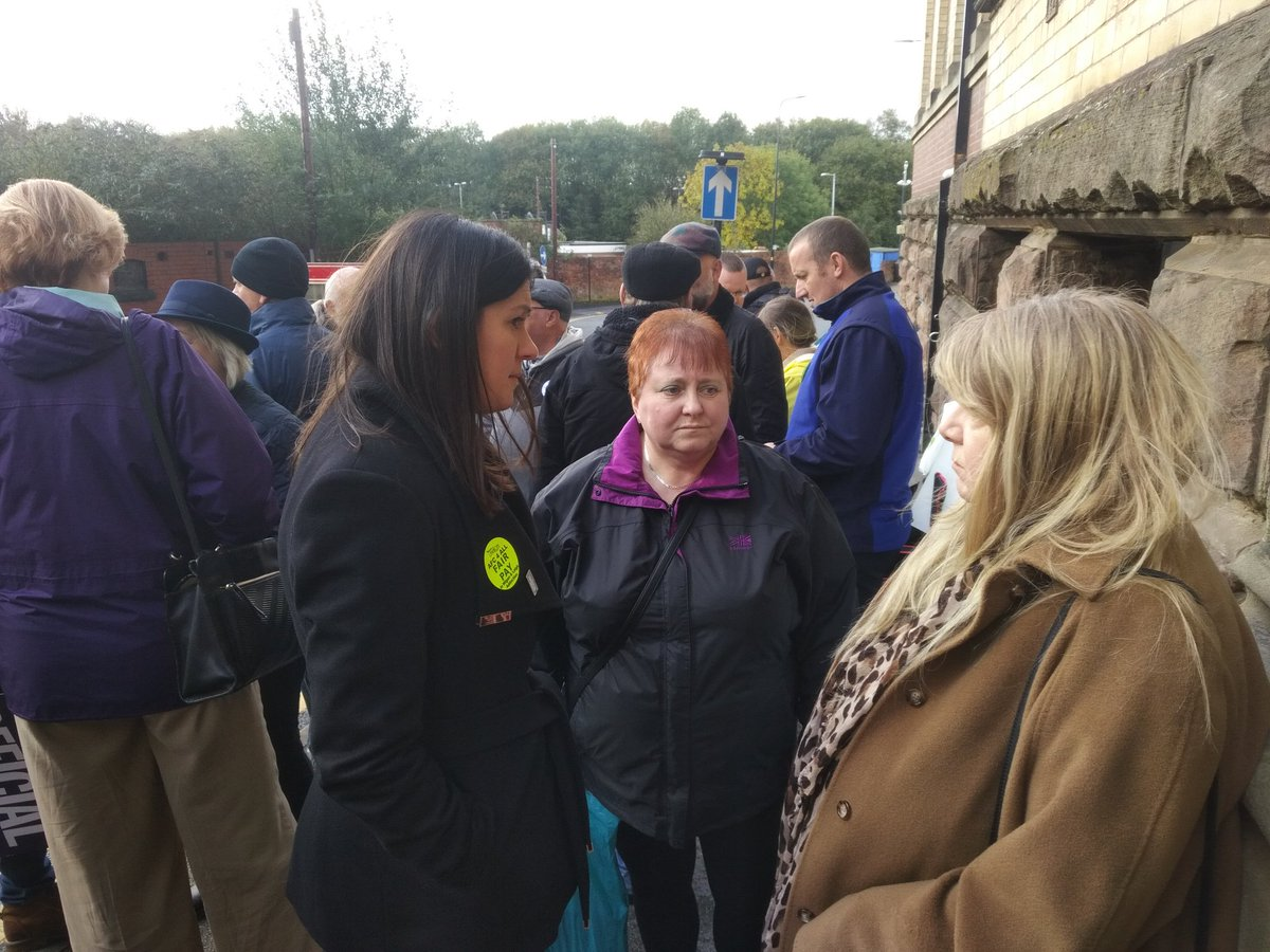 MPs heard first hand today from @AddactionUK members on the picket line. Great support from @Y_FovargueMP @JoPlattMP @lisanandy