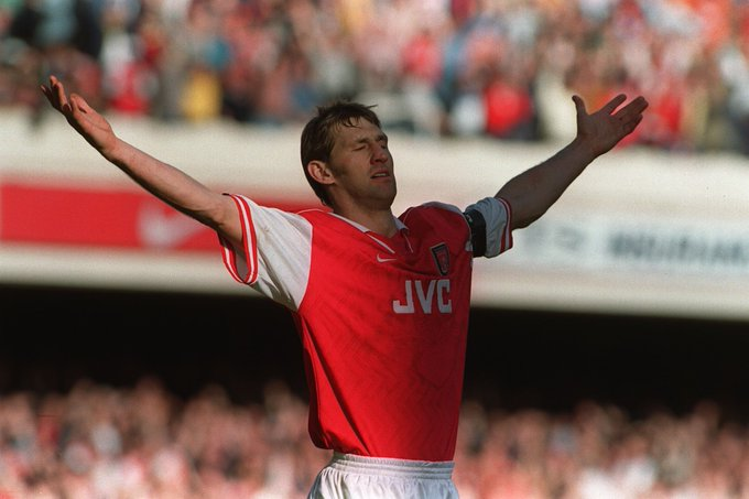 Happy Birthday Tony Adams! The only player who has captained a title winning side in three different decades