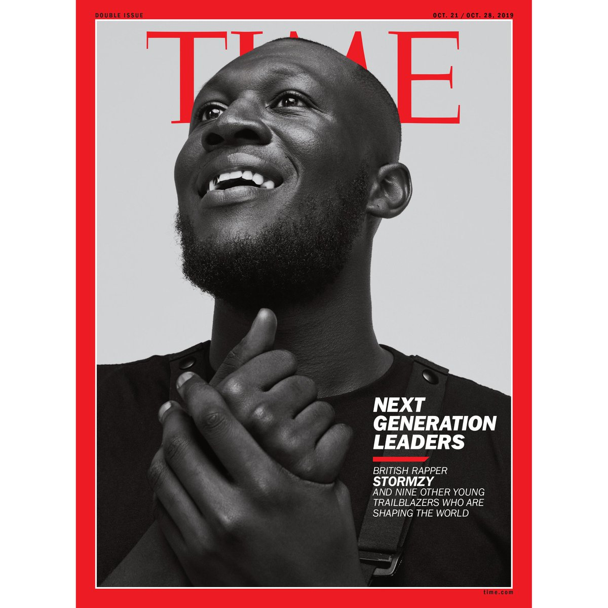 It was an honour to profile @stormzy for the cover of @TIME. We had such an interesting chat about his music, advocacy, and his deliberate intentions to share the limelight with Black British talent. An iconic cover image, too! time.com/collection-pos…