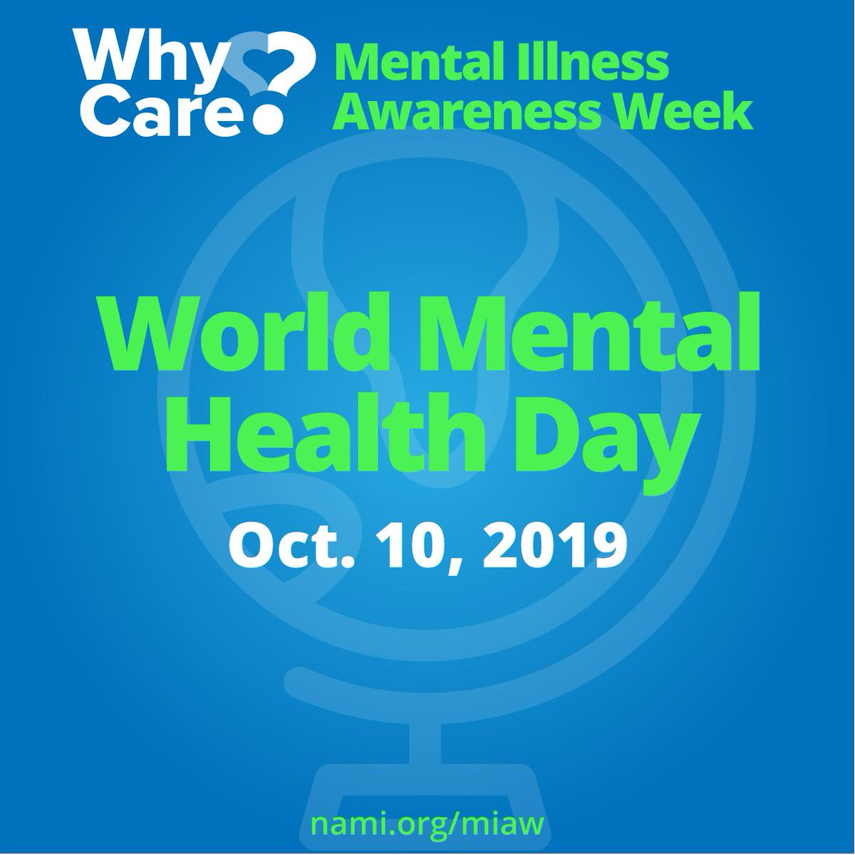 Today is #WorldMentalHealthDay! Mental health care is health care – and taking care of your mental health is just as important to your overall wellbeing as your physical health.