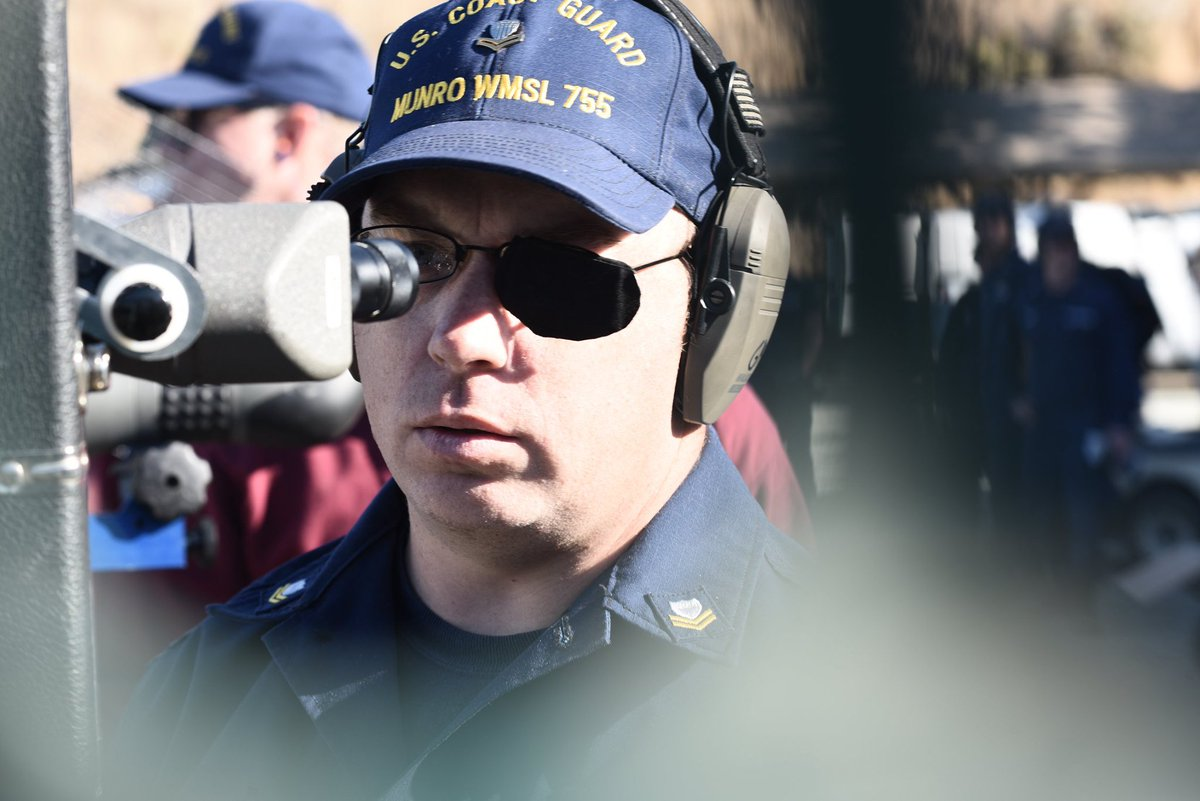 #USCG members, along with members of the @USNavy and @USMC, recently participated in the San Francisco Fleet Week marksmanship competition. Events consisted of 5 and 10-round single fire competitions.
