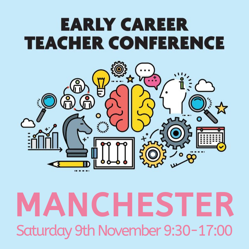 Have you registered your NQTs for our Early Career Teacher Conference this November? Give your early career teachers the best start possible with the support of their professional body behind them - my.chartered.college/events/early-c…