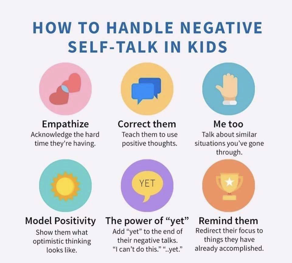 For positive self kids talk 5 Positive