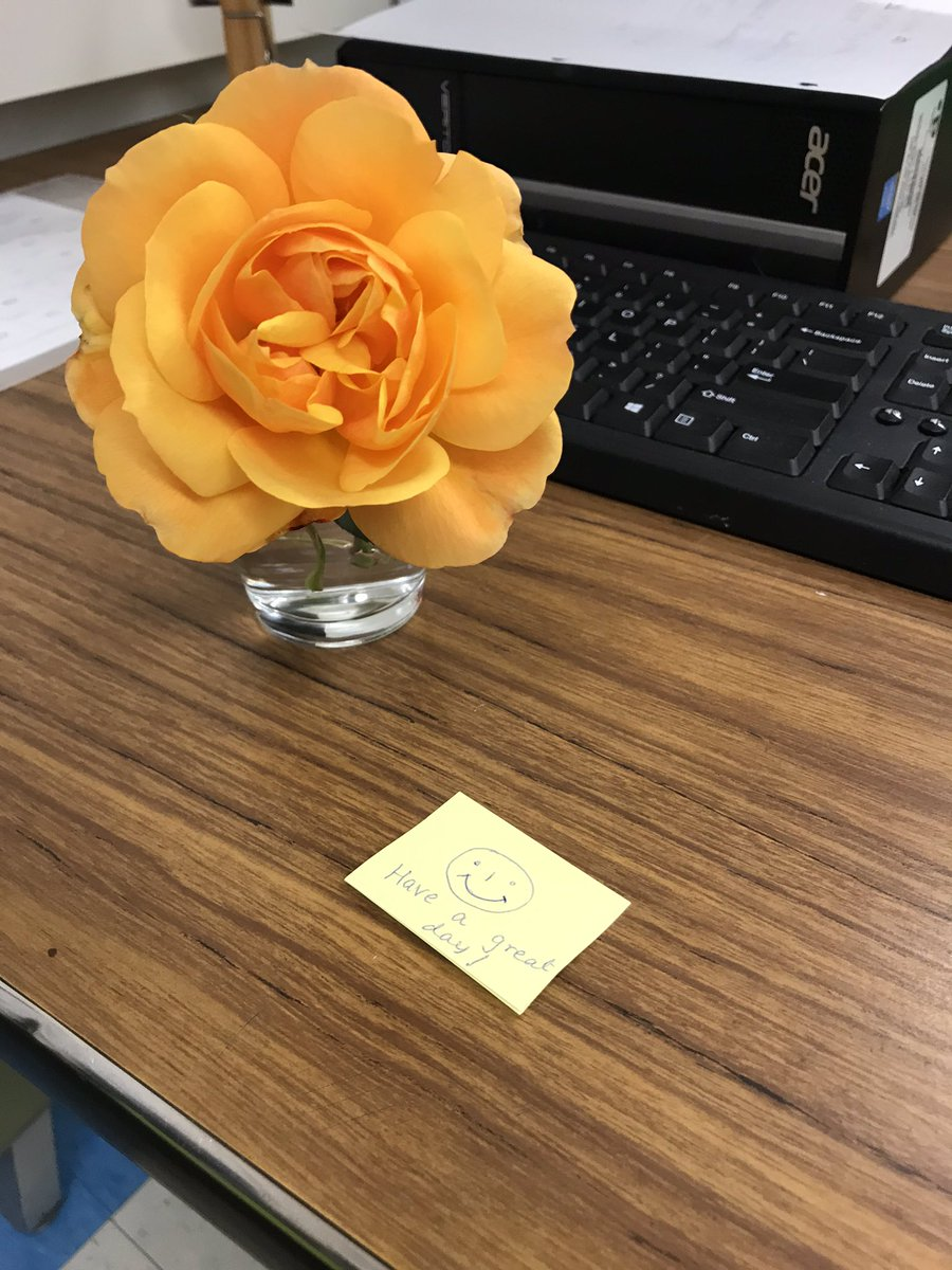We have the most KINDEST and CARING staff here at Darcel! Thank you so much to the individual who put this on my desk this morning! I am forever grateful! #worklove #weareateam #thankyou #beststaff #kindness #grateful @DarcelSeniorPS<br>http://pic.twitter.com/6twz42MnSG