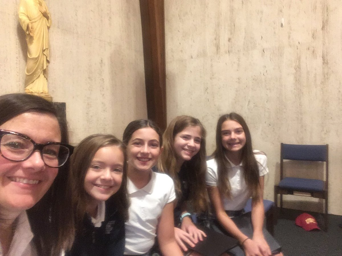 They did a great job at Grandparents Day Mass yesterday.