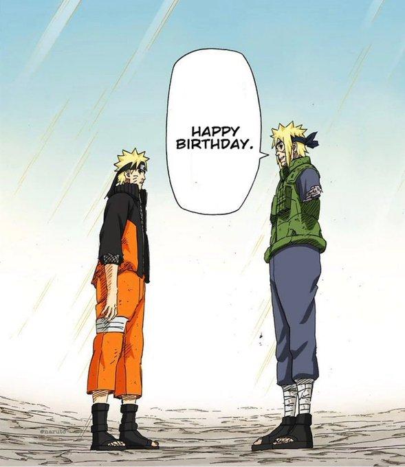 Happy Birthday to one of the greatest to ever be born Naruto Uzumaki