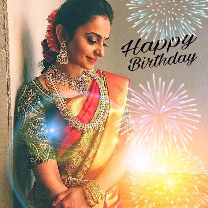Many Many happy returns of the day Special happy birthday Rakul Preet Singh