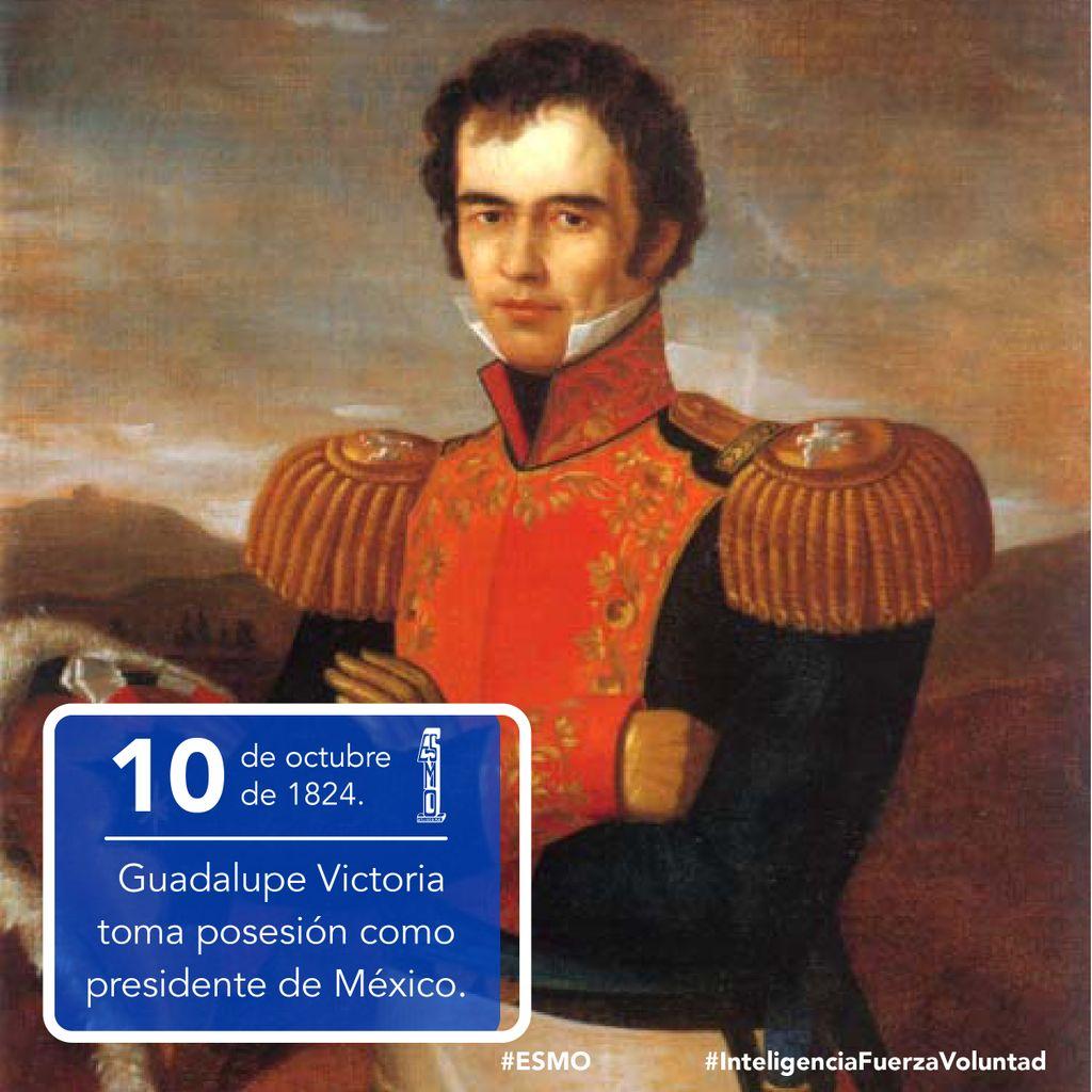 🗓 10 de octubre de 1824 🇲🇽 Toma posesión Guadalupe Victoria, primer presiden- te de los Estados Unidos Mexicanos.  #ESMO #InteligenciaFuerzaVoluntad #HacerHistoriaHacerFuturo #Atlixco #Puebla #México #NuevaEscuelaMexicana #educación #EducaciónBásica #AccionesPorLaEducación