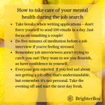 Image for the Tweet beginning: The job search can be