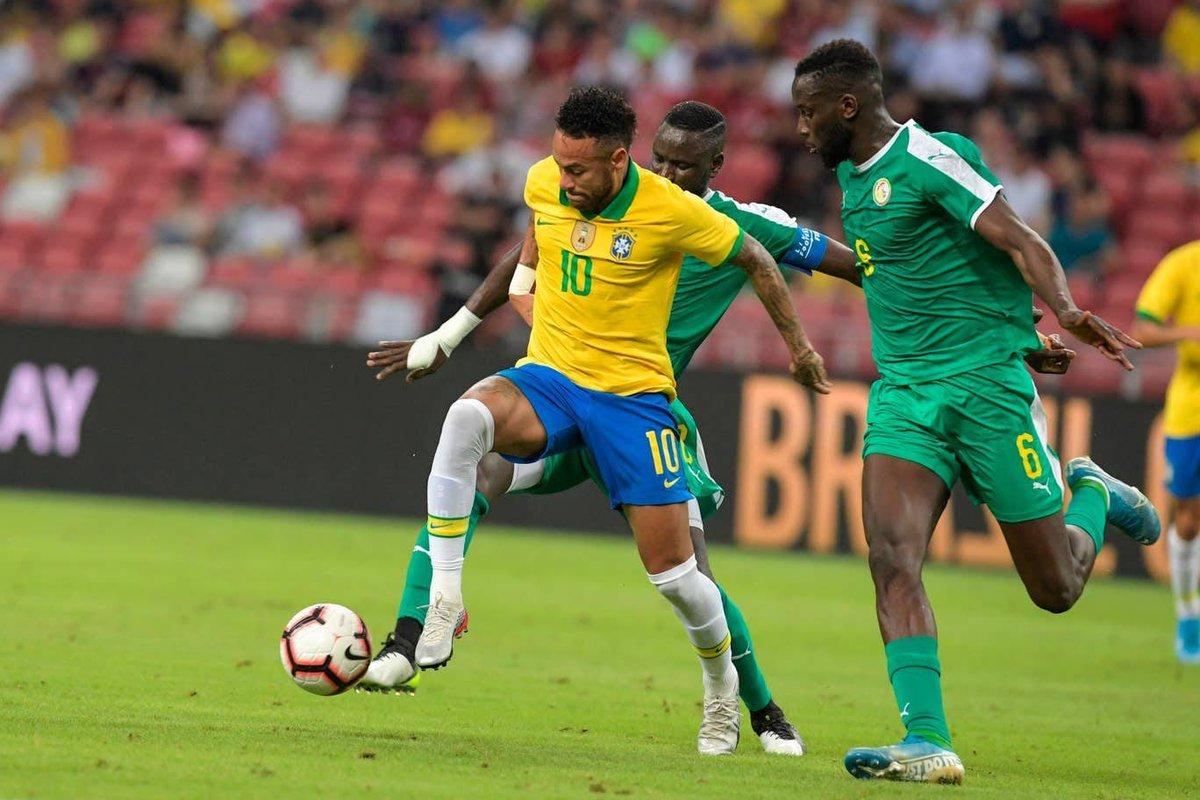 "Oluwashina Okeleji в Твиттере: ""FT: Brazil 1-1 #Senegal"