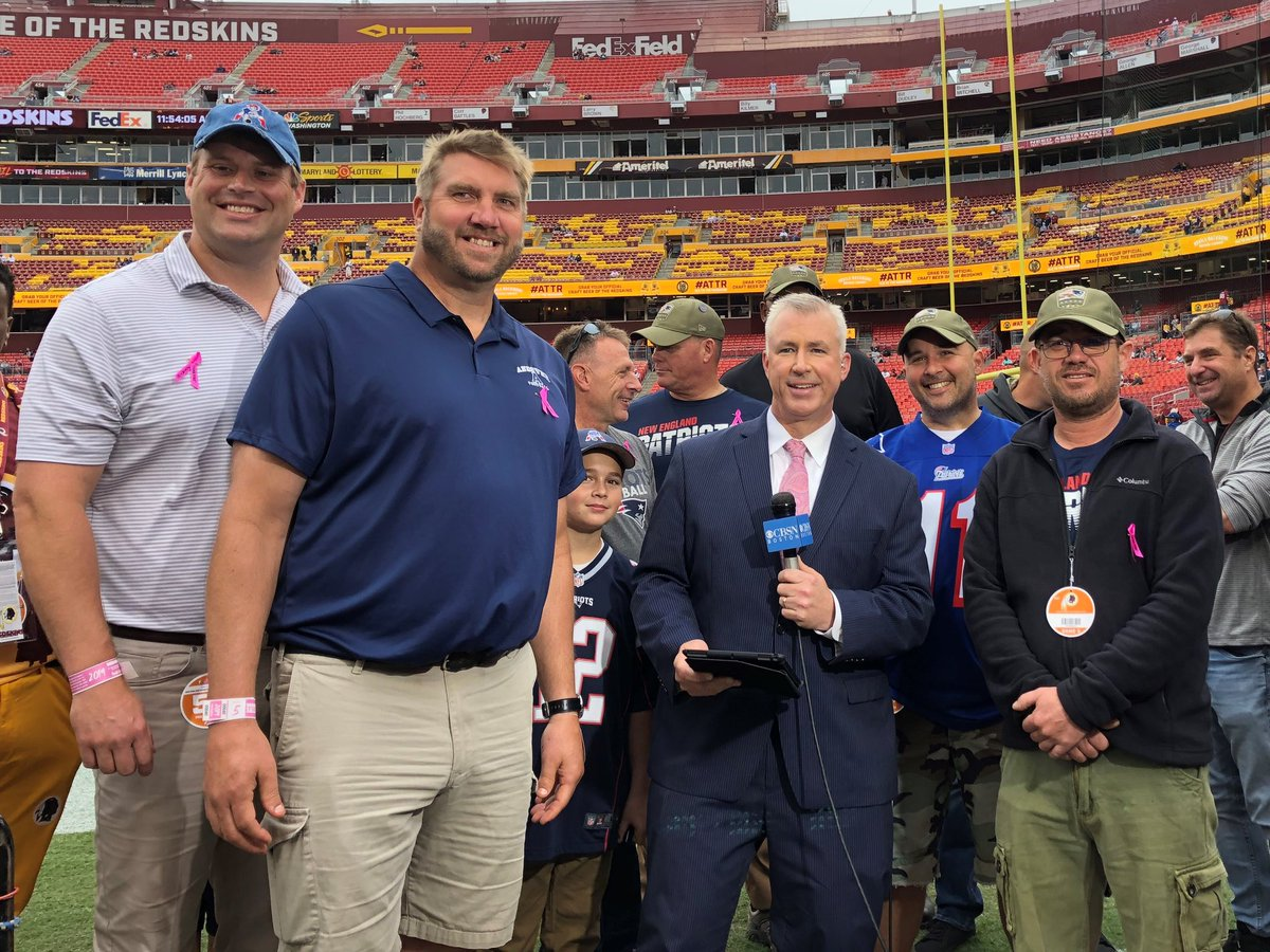 The #Patriots hosted a U-S Veterans to DC trip Sat/Sun Shawn Cody Shane Hill John Kondratowicz Jim Paiva Nic Sanchez Mike Sweeney They visited Arlington National Cemetery, Washington Monument and US Capital.(1)