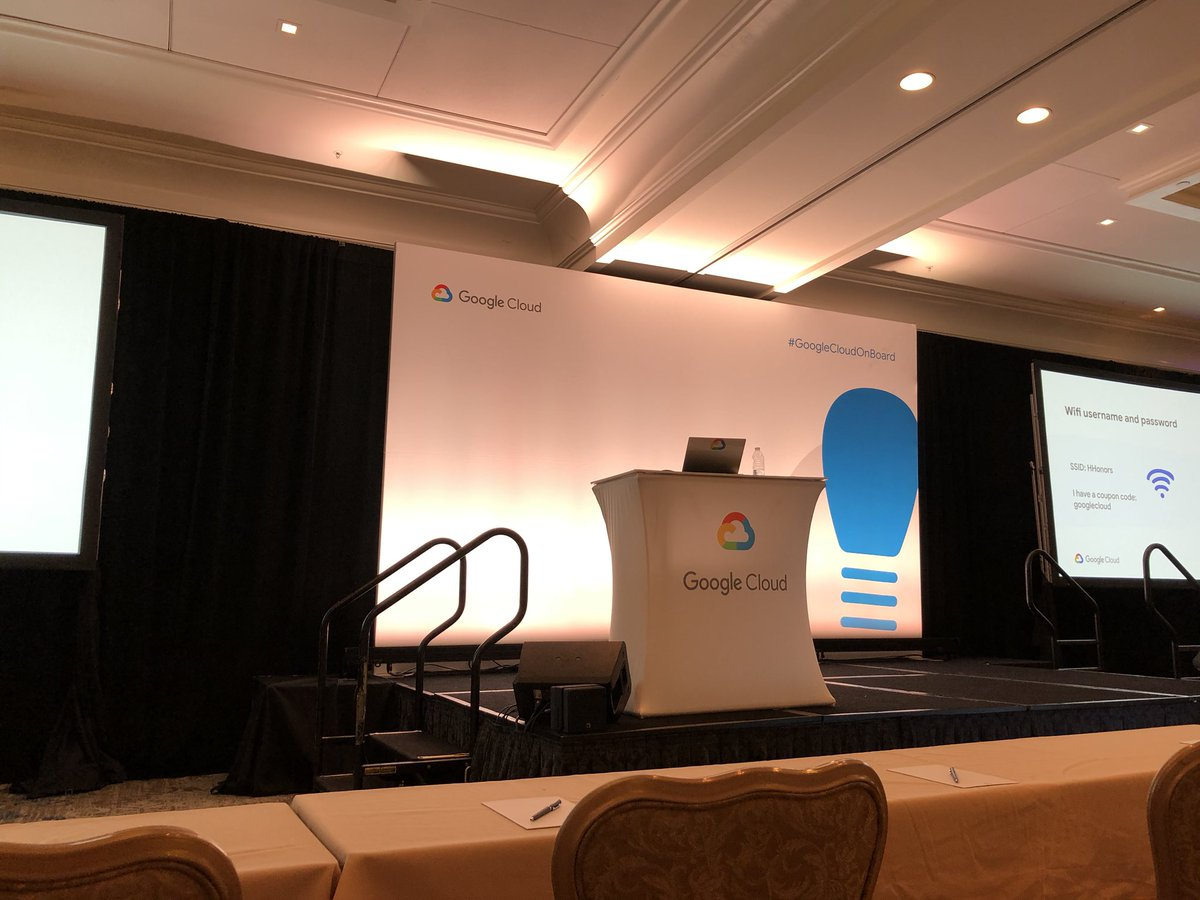 Time to learn #GoogleCloudOnBoard https://t.co/edOB0XwdVE