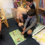 The Pre Prep & Junior School library is proving a hit. Where better to have some down time & get lost in a #goodread #books #ThursdayThoughts #stressfree #imagination