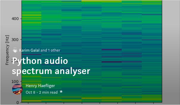 spectrogram-hashtag på Twitter