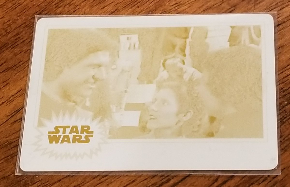 Eric Pfeifer On Twitter Printing Plate 1 Of 1 For Card 28 For Topps Journey To The Rise Of Skywalker Set 2019 Starwars Theriseofskywalker Collection Pfeifercon Collector Cards Tradingcards Hobbybox Https T Co Sf4qprg73o
