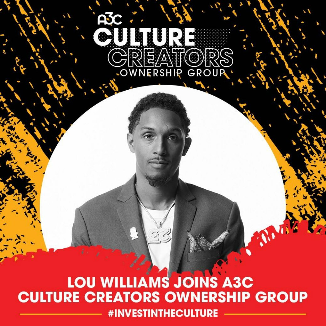ATL legend.  Lou Williams has joined the ownership group for the acclaimed A3C Festival & Conference: http://slam.ly/lou-a3c
