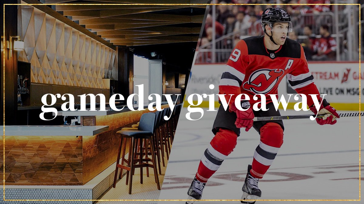 🚨 #NJDevils GAMEDAY GIVEAWAY 🚨  Follow @PruCenter for your chance to win 2 Premium @NJDevils tickets in The Lofts! The first eligible person (can only win once a season) to reply to the tweet will win tickets to today's game.   #WeAreTheOnes