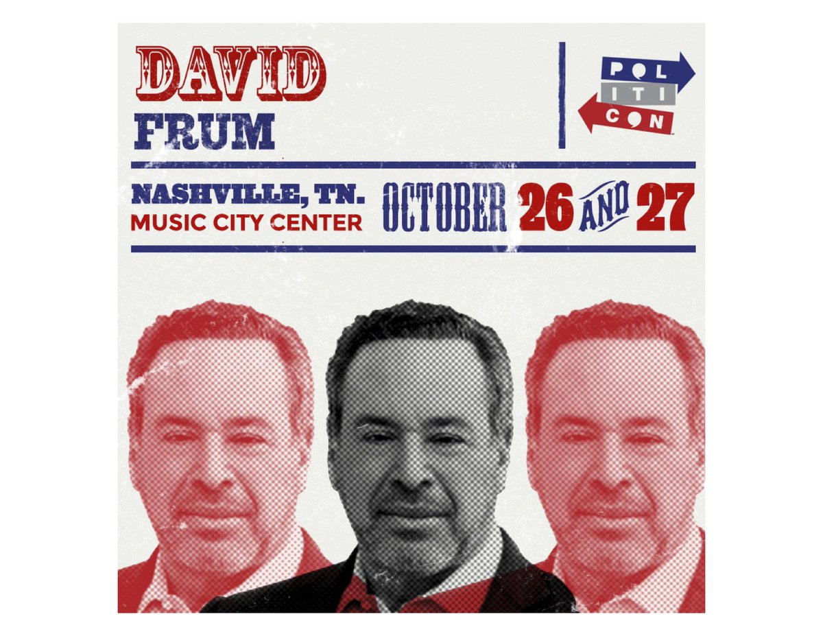 I'll join @Politicon 2019 in Nashville