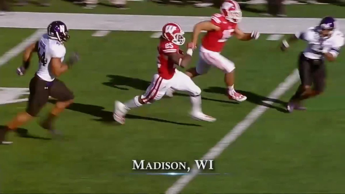 The Melvin Gordon-James White running back duo made Wisconsin's 2013 backfield special 👀👀  (via @BigTenNetwork)