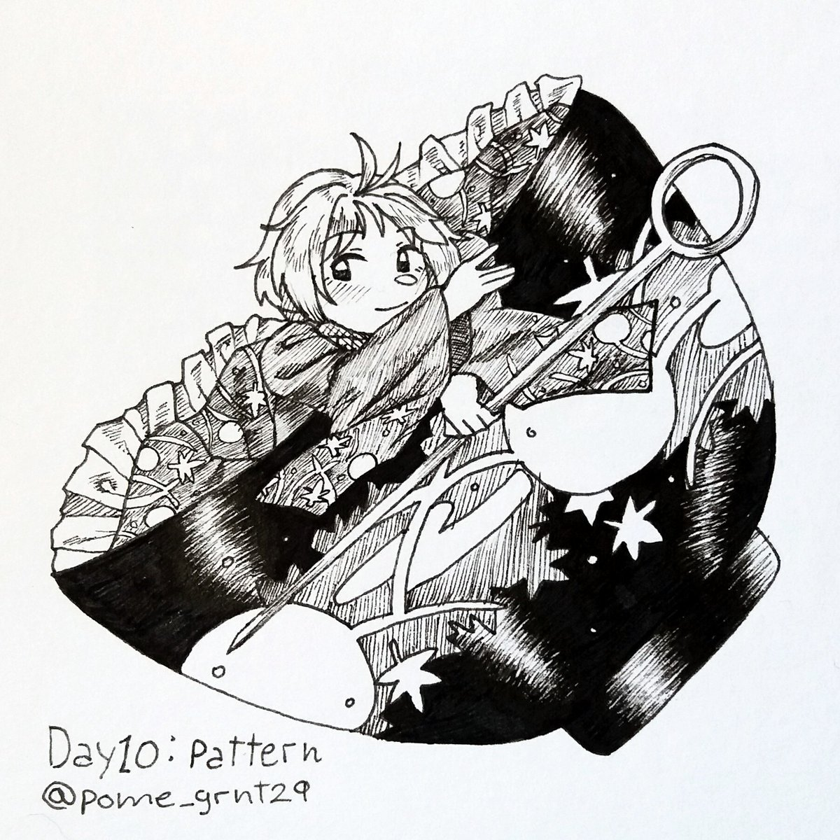 Day 10 of #Inktober ! . . #sukunashinmyoumaru #touhou #TouhouProject
