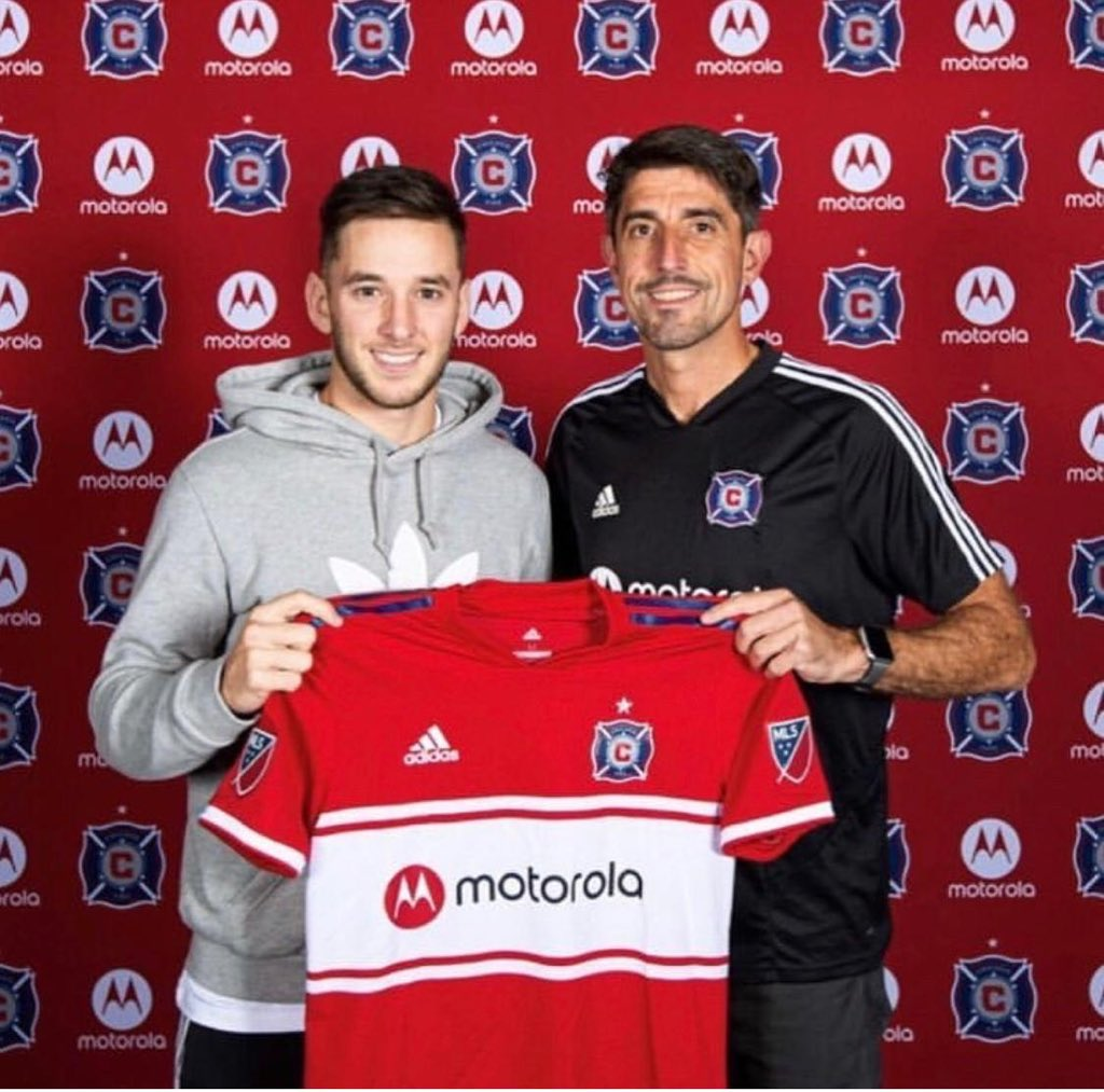 Chicago Fire sign midfielder Alvaro Medran, a product of Real Madrid's youth academy
