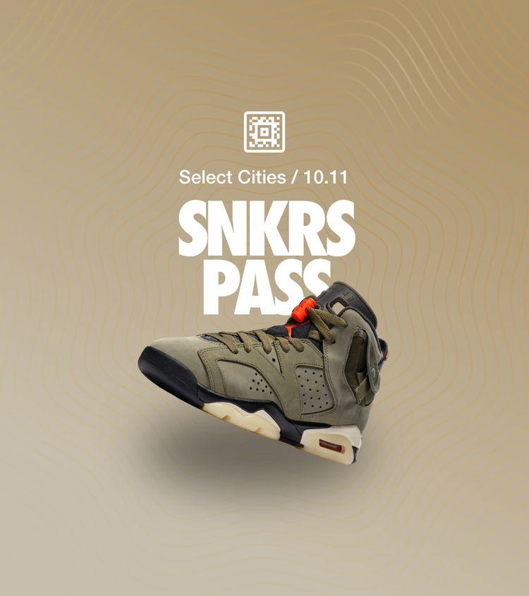 SNKRS PASS: Air Jordan 6 \