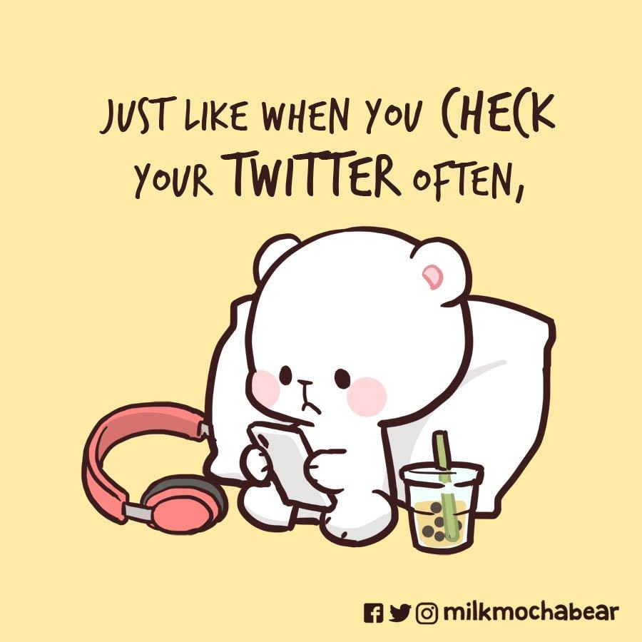 October 10th is #WorldMentalHealthDay Take care of yourself ♡ --- #milkmochabear #WMHD2019