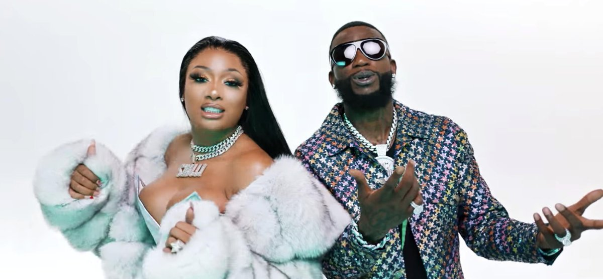 ".@gucci1017 and @theestallion team up for the ""Big Booty"" video. thefader.com/2019/10/10/guc…"