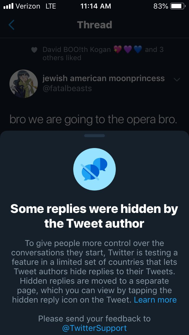 This seems like an excellent way to hide comments that correctly identify inaccuracies or give critical context. @Twitter is making it even easier to silo oneself from outside thought or facts, a problem it already faces.