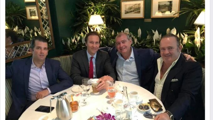 Lev Parnas and Igor Fruman, two Ukrainians, set up meetings between Giuliani & Yuri Lutsenko to dig up dirt on the Bidens They gave $500,000 to pro-Trump groups. They dined at the White House w/Trump. They also had breakfast w/ @DonaldJTrumpJr  It's a sewer.