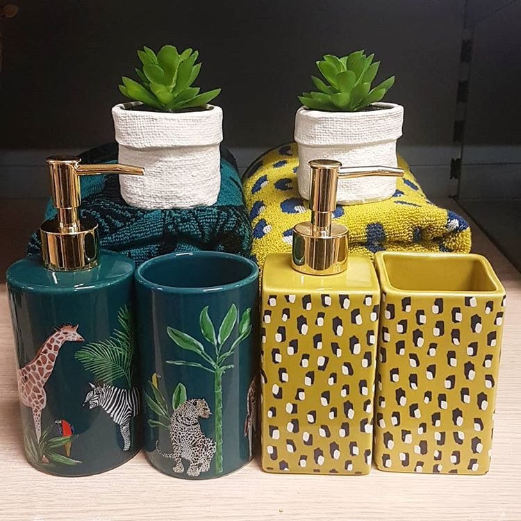 Asda On Twitter Ariana On Instagram Described Her New Bathroom Accessories As Gorgeous When She Uploaded This Pic And We Couldn T Agree More Find The Precious Planet Range In Store And