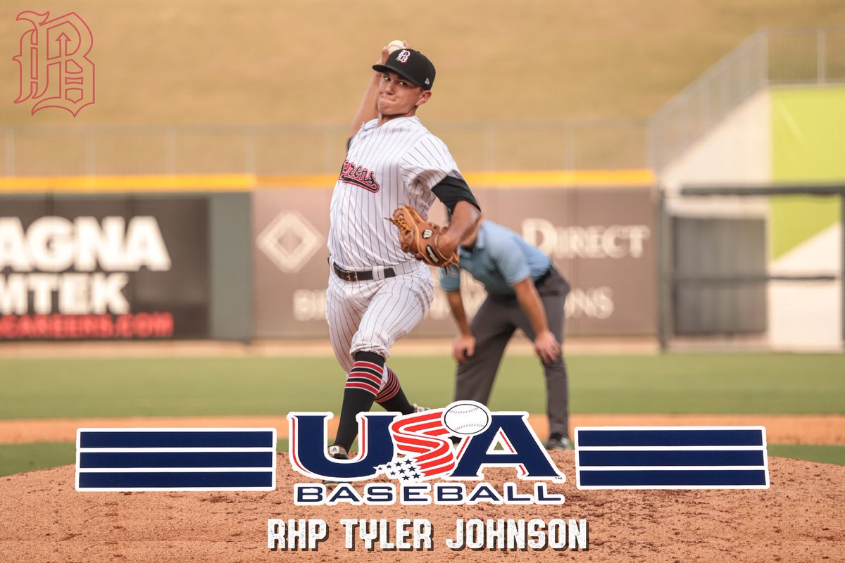 Congratulations @TyJohnson_21 on being selected to the USA Baseball roster for the World Baseball Softball Confederation (WBSC) Premier 12 team! The team's first tournament in Guadalajara, Mexico is the first opportunity for Team USA to qualify for the Tokyo 2020 Olympic Games🥇