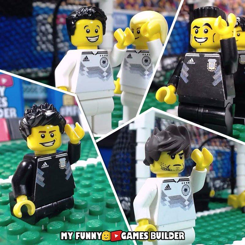 Enjoy great International Friendly Match ... #GermanyArgentina 2-2 in #LEGO version !!! All goals: #Gnabry  #Havertz #Alario #Ocampos  [ 🎥- Full video:  ] #AlemaniaArgentina #GermanyVsArgentina #DeutschlandArgentinien #GermaniaArgentina  #LegoFootball