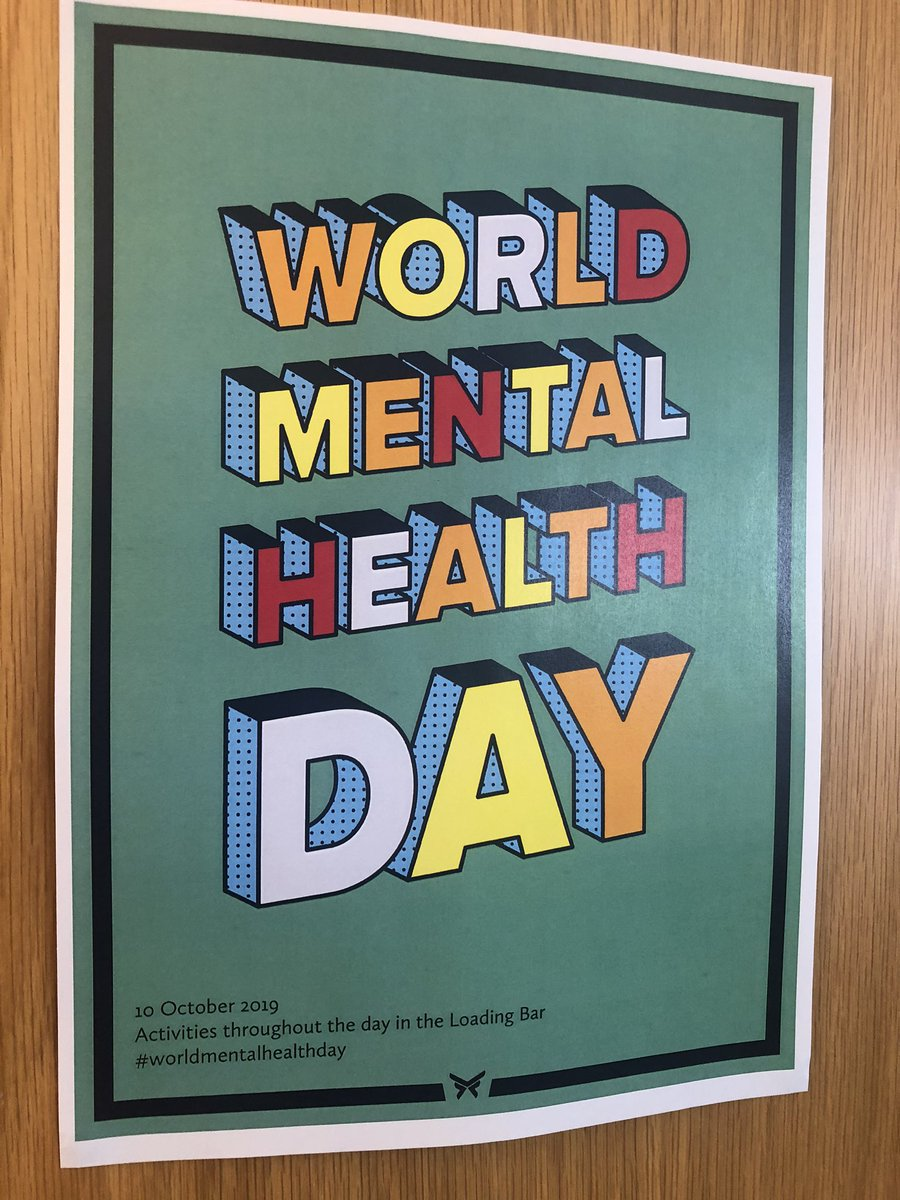 We spent lunchtime raising money for @DorsetMind with a Book & Bake sale.   To find out more about their services, visit: https://dorsetmind.uk/help-and-support/…  #WorldMentalHealthDay2019 #WMHD2019
