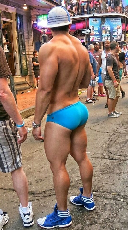 Man with biggest butt