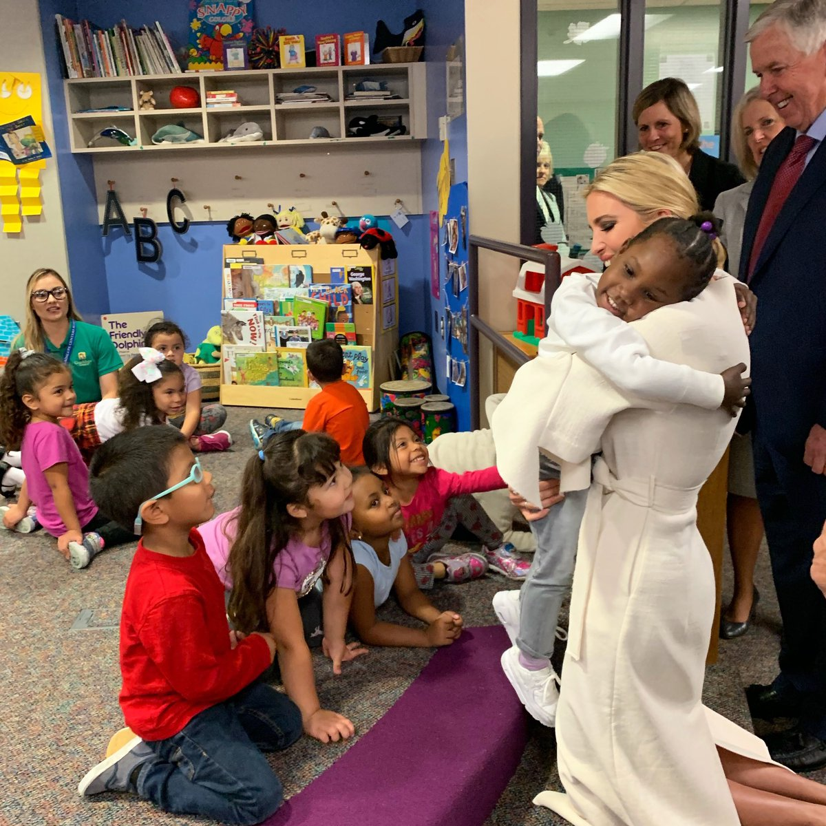 Kansas City certainly gave Sec. Azar, Sen. Blunt, Gov. Parson and me a warm welcome! Hearing from parents, administrators (and kids!) alike about the challenges faced in the child care space was enlightening and this great feedback will inform our work back in DC.