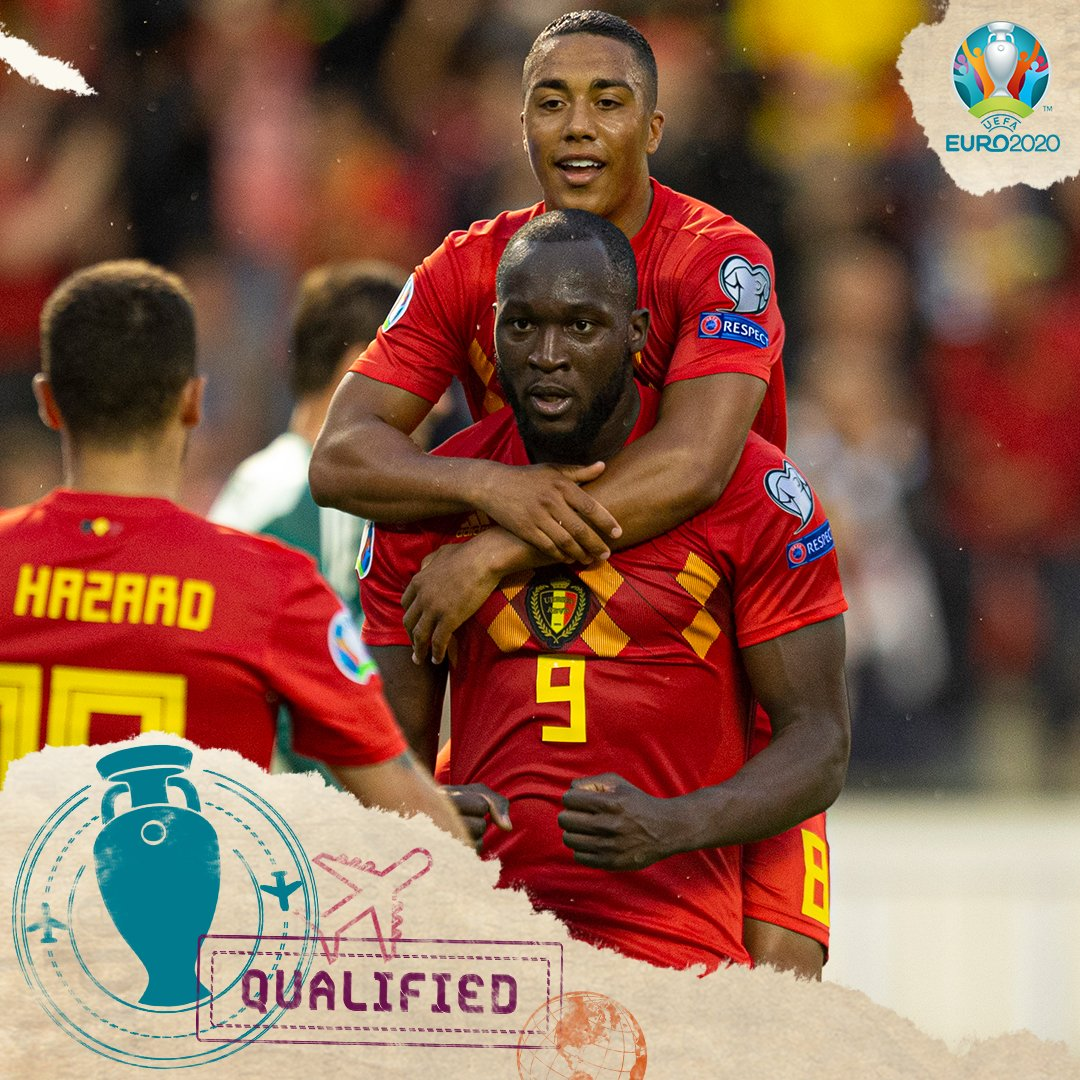 Belgia lolos ke putaran final Euro 2020
