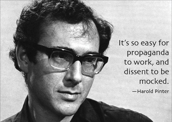 Happy Birthday Harold Pinter!
