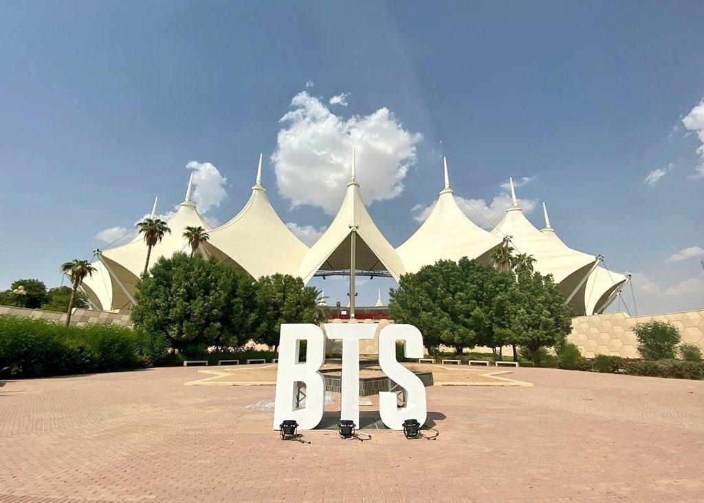 BTS Konser di King Fahd International Stadium Riyadh Arab Saudi (c) Big Hit Entertainment