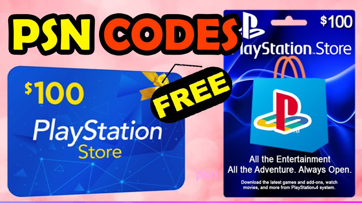 How to get free PSN codes _ PSN card giveaway. youtu.be/HDhFIMjroYU #psncodes #freepsncodes #psncodesfree #psngiftcard #playstationgiftcard #psncard #FANDOMLEAKED
