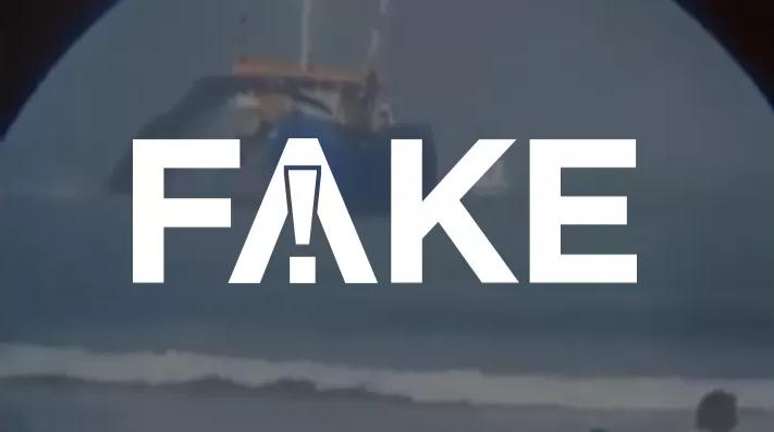 É #FAKE que vídeo mostre navio venezuelano jogando óleo no mar no Nordeste ==> https://glo.bo/33q3mBH #G1