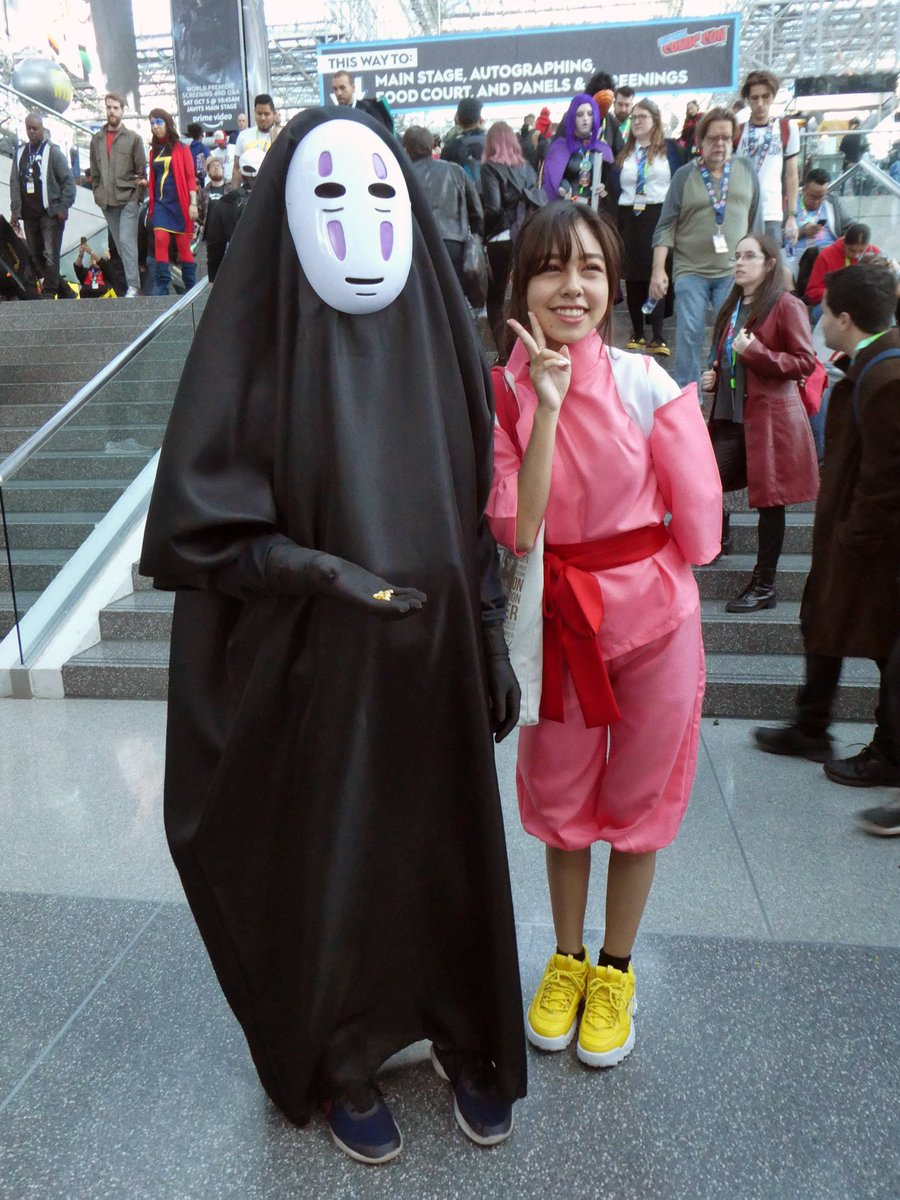 Jack On Twitter No Face Chihiro Ogino From Spirited Away Cosplay At New York Comic Con 2019 Noface Chihiro Spiritedaway Nofacecosplay Chihirocosplay Spiritedawaycosplay Cosplay Newyorkcomiccon Nycc Nycc2019 Https T Co Uqffkgmp4r