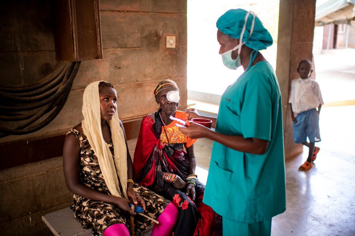 Today is #WorldVisionDay. People who need eye care must be able to receive quality interventions without suffering financial hardship. Including eye care in national health plans & essential packages of care is an important part of every country's journey towards #HealthForAll.