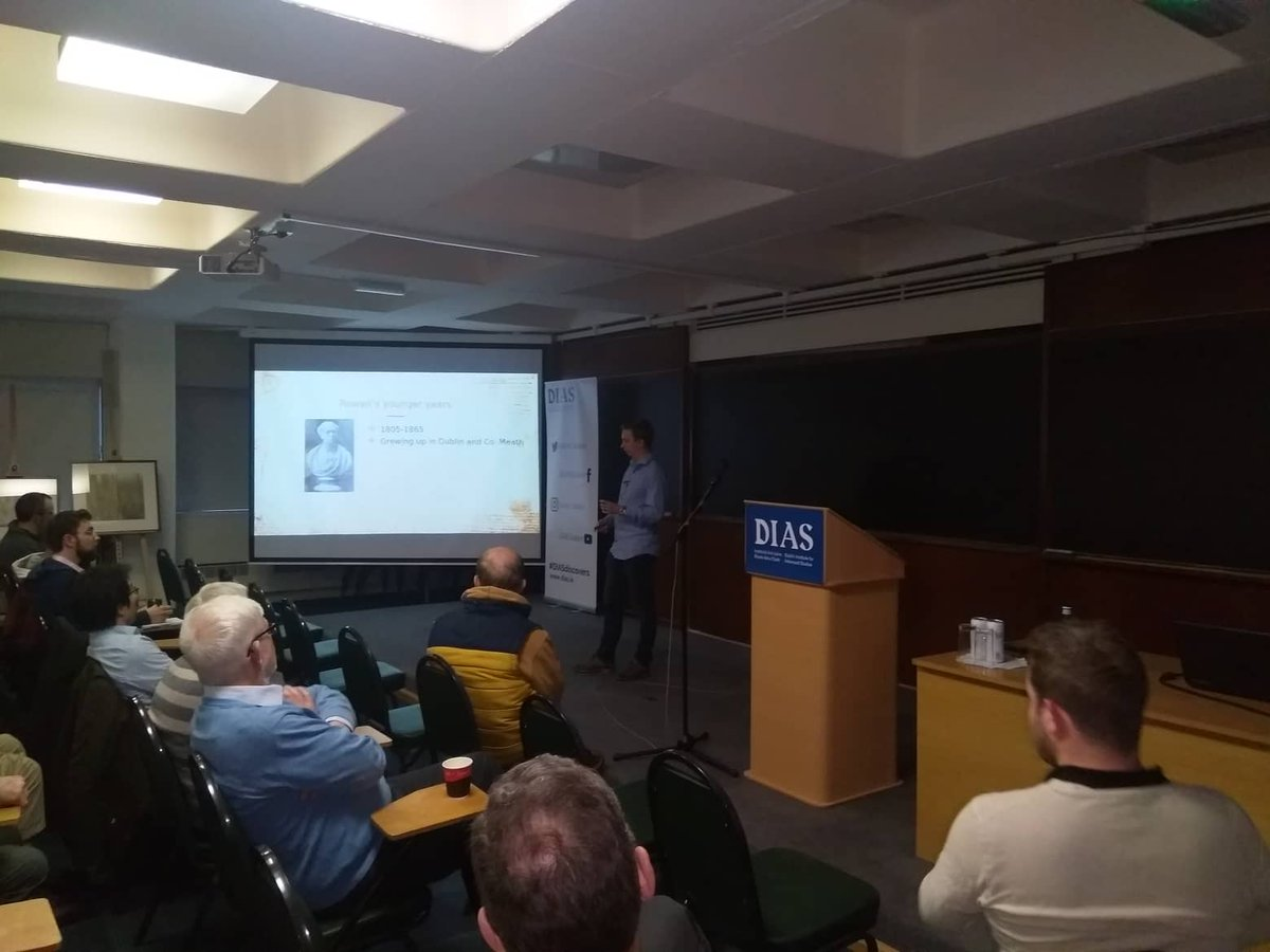 test Twitter Media - STP, DIAS Events - Dublin Festival of History 2019 -  On Now! 'The thoughts of Hamilton and Schrödinger that stood the test of time'  Luuk Coopmans (DIAS) https://t.co/JBWxzcqJtP