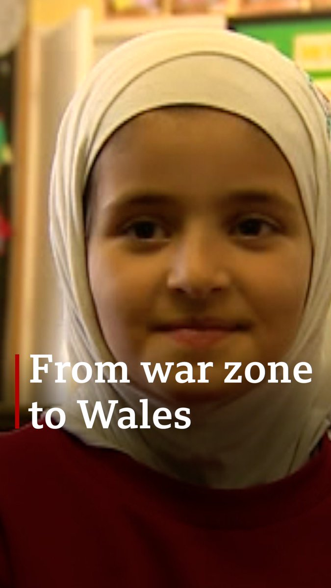 The Syrian children who have fallen in love with speaking Welsh 😍🏴