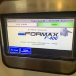Image for the Tweet beginning: Formax F400 today running with