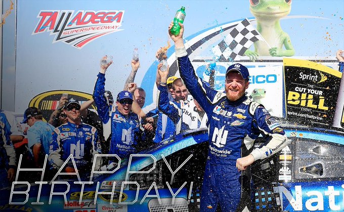 HAPPY BIRTHDAY DALE EARNHARDT JR